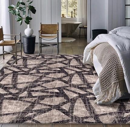 Area Rug in Bedroom | Tom January Floors
