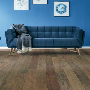Blue couch | Tom January Floors