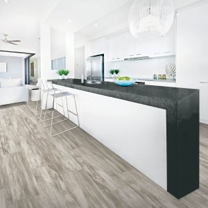 Countertop on laminate flooring | Tom January Floors