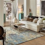 Area Rug in living room | Tom January Floors