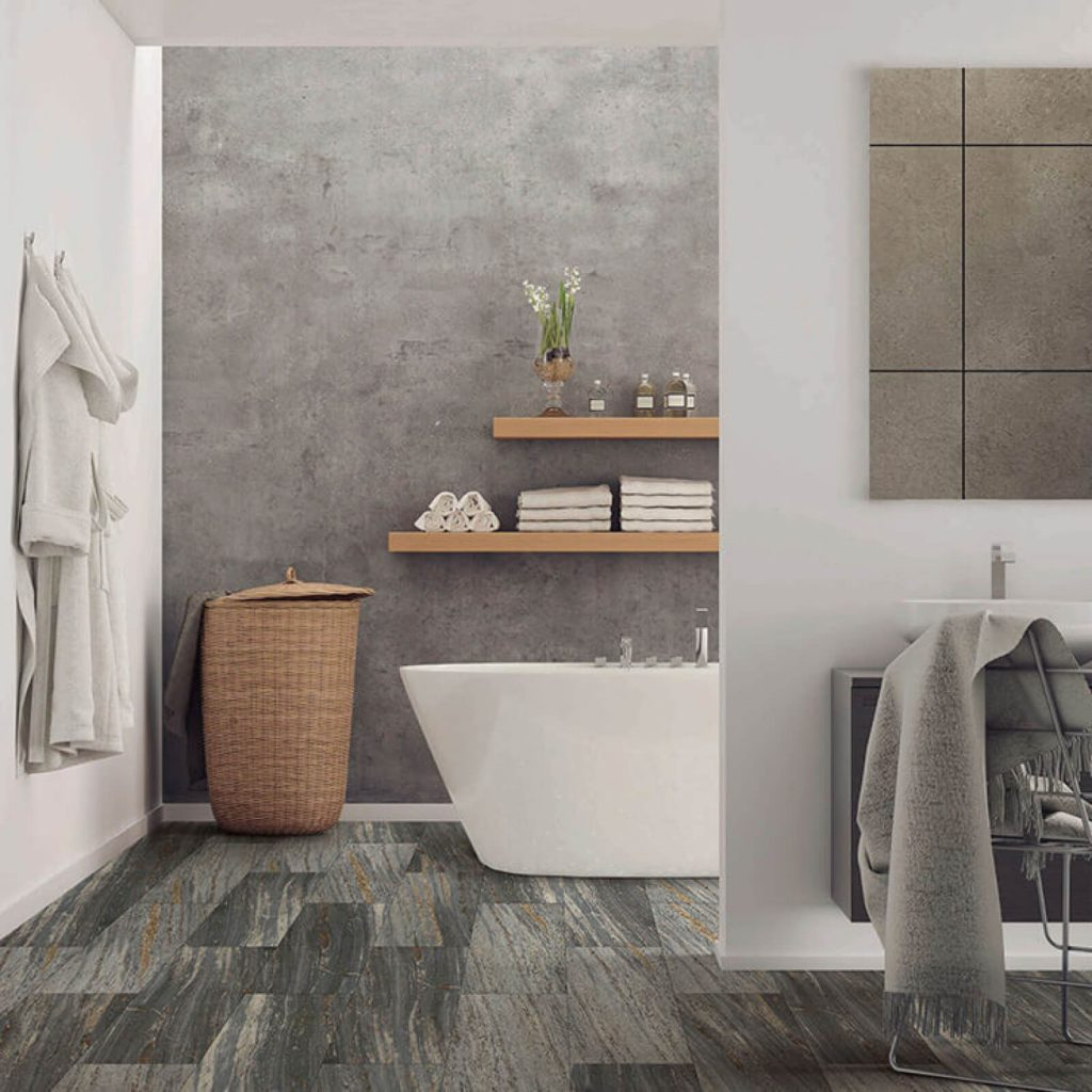 Bathroom Vinyl flooring | Tom January Floors