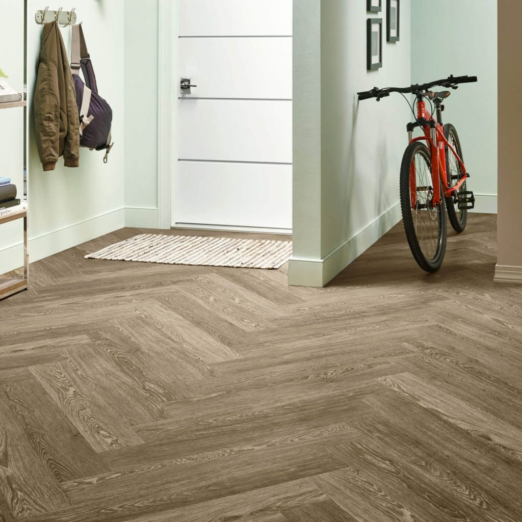 Bicycle on flooring | Tom January Floors