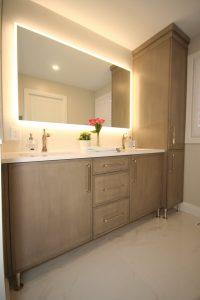 Mirror in washroom   Tom January Floors