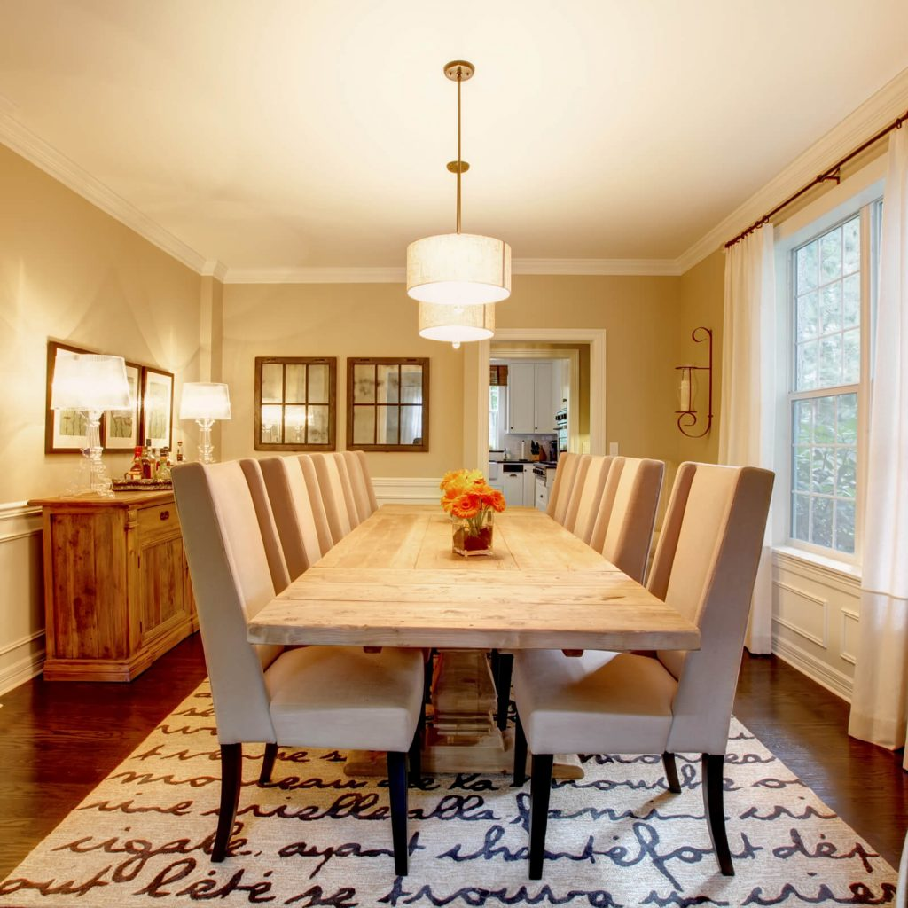 Choosing the Best Rug for Your Dining Room | Tom January Floors