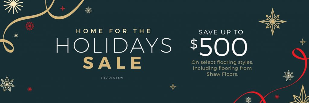 Home For the holiday sale | Tom January Floors