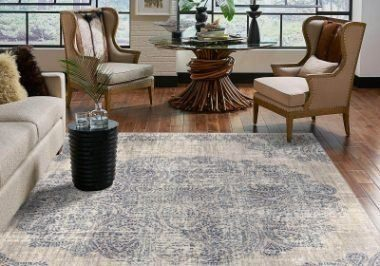 Living room Area Rug | Tom January Floors